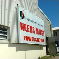 Needs Must Power Station In St. Kitts
