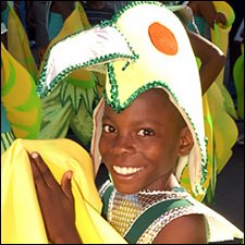 Youth At St. Kitts - Nevis Carnival