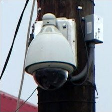 A Functioning CCTV Camera In Basseterre