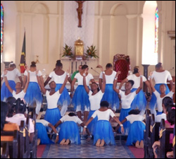 The Children's Dance Thatre Performs