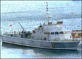 St. Kitts Nevis Coast Guard Cutter Stalwart