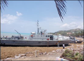 The Beached Coast Guard Vessels - Stalwart and Arden