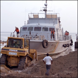 St. Kitts - Nevis Coast Guard Vessel - Stalwart