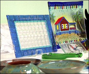 St. Kitts Craft Items On Display