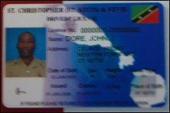 St. Kitts - Nevis Driver's License