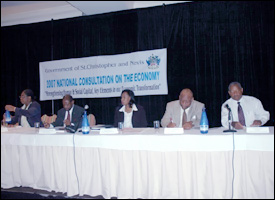 Head Table At The 2007 Consultation On The Economy