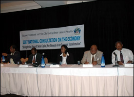 St. Kitts - Nevis Economy Consultation - 2007