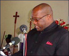 St. Kitts - Nevis' Minister Of Finance - Dr. Timothy Harris