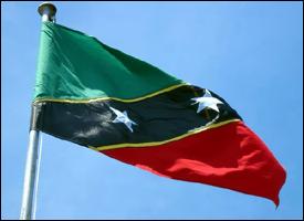 St. Kitts - Nevis National Flag