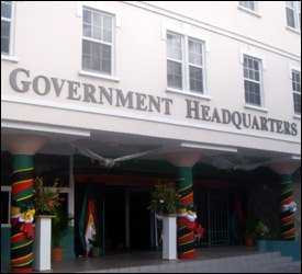 St. Kitts - Nevis - Government Headquarters