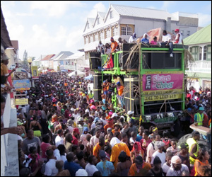 St. Kitts - Nevis' Jouvert Morning 2013