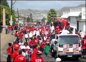 St. Kitts - Nevis Labour Day March - 2009