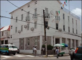 St. Kitts - Nevis Ministry of Finance Offices