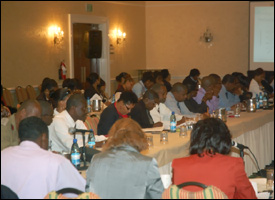 Participants at The 2010 National Consultation