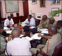 National Security Chiefs Meeting