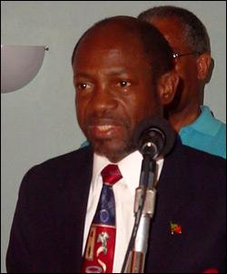 St. Kitts - Nevis' - Prime Minister Douglas