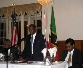 St. Kitts - Nevis PM In Brooklyn