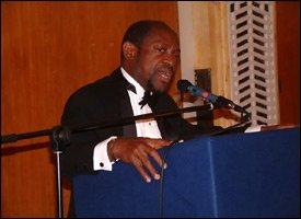 PM Douglas Speaking In London