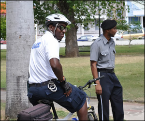 St. Kitts - Nevis Police On Patrol