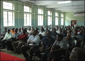 St. Kitts - Nevis Police Force Meeting