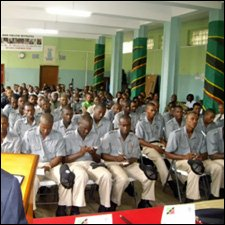 St. Kitts - Nevis Police Force Members