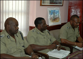 St. Kitts - Nevis Police - High Command
