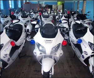 New Police Motorcycles