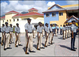 St. Kitts - Nevis Police Officers