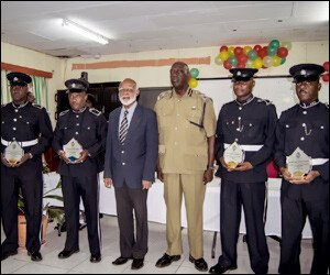 Police Officers Receive Awards