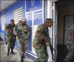 St. Kitts - Nevis Police Training Exercise