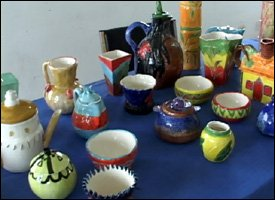 Sample Of Pottery Produced During Class