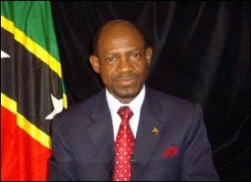 St. Kitts - Nevis' Prime Minister - Denzal Douglas