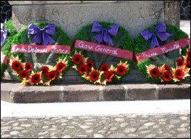 Rememberance Day Wreath Ceremony