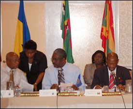St. Kitts - Nevis RSS Council Contingent