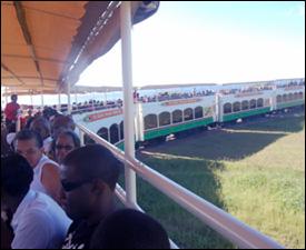 The St. Kitts Scenic Railway Train