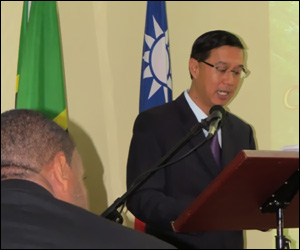 His Excellency Miguel Tsao
