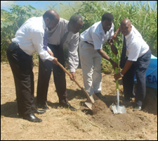 Ground Breaking Ceremony For Teachers' Union Building