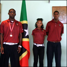 St. Kitts – Nevis Athletes Welcomed Home In Style