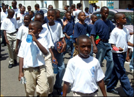 St. Kitts - Nevis Youth Rally Parade 2008