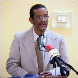 St. Kitts - Nevis' Youth Secretary - Osmond Petty