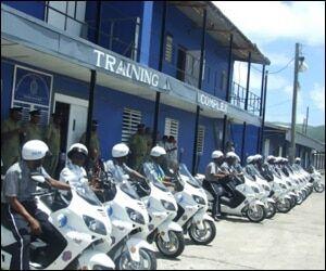 Police Prepare To Fight Crime