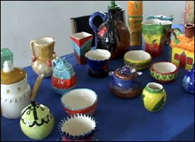 Pieces Created At The Pottery Workshop