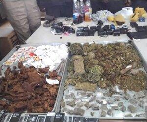 Illegal Drugs Found In Prison