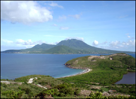 The South-East Peninsula of St. Kitts