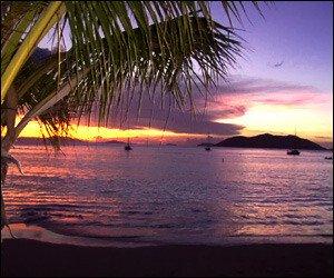 St. Kitts - Nevis Sunset