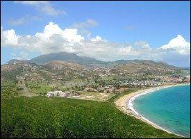 St. Kitts Under A Caribbean Blue Sky