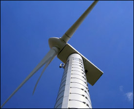 Vestas Wind Turbine - St. Kitts