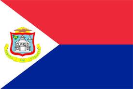 The National Flag of St. Maarten