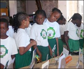 St. Thomas Primary School Students