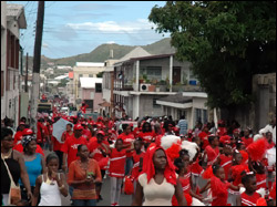 St. Kitts - Nevis Labour Day March 2008
